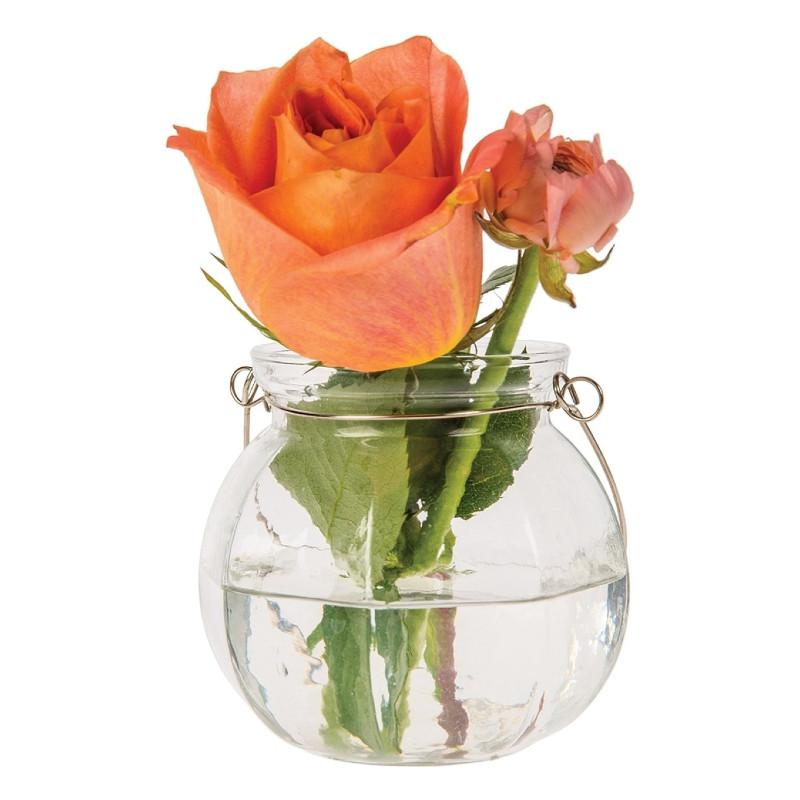 Vivian Clear Hanging Mason Jar Candle Holder and Vase (20 PACK) - AsianImportStore.com - B2B Wholesale Lighting and Décor