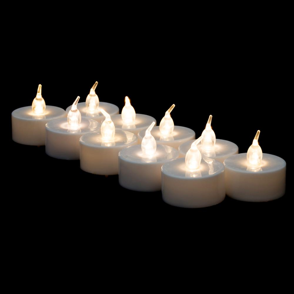 LED Battery Operated Flameless Tea Light Candles, perfect table Decoration for Weddings, Receptions, Holidays, Parties, restaurants or all occasions - AsianImportStore.com - B2B Wholesale Lighting and Decor