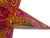 "24"" Magenta Oriental Swan Paper Star Lantern, Chinese Hanging Wedding & Party Decoration"