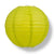 "10"" Chartreuse Round Paper Lantern, Even Ribbing, Chinese Hanging Wedding & Party Decoration"