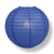 "20"" Dark Blue Round Paper Lantern, Even Ribbing, Chinese Hanging Wedding & Party Decoration - AsianImportStore.com - B2B Wholesale Lighting and Decor"
