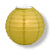 "24"" Pear Round Paper Lantern, Even Ribbing, Chinese Hanging Wedding & Party Decoration"