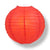 "BULK PACK (6) 42"" Red Jumbo Round Paper Lantern, Even Ribbing, Chinese Hanging Wedding & Party Decoration"