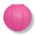 "30"" Fuchsia / Hot Pink Jumbo Round Paper Lantern, Even Ribbing, Chinese Hanging Wedding & Party Decoration - AsianImportStore.com - B2B Wholesale Lighting and Decor"