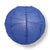 "16"" Dark Blue Round Paper Lantern, Crisscross Ribbing, Chinese Hanging Wedding & Party Decoration - AsianImportStore.com - B2B Wholesale Lighting and Decor"
