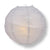 "8"" Gray / Grey Round Paper Lantern, Crisscross Ribbing, Chinese Hanging Wedding & Party Decoration - AsianImportStore.com - B2B Wholesale Lighting and Decor"