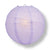 "14"" Lavender Round Paper Lantern, Crisscross Ribbing, Chinese Hanging Wedding & Party Decoration"