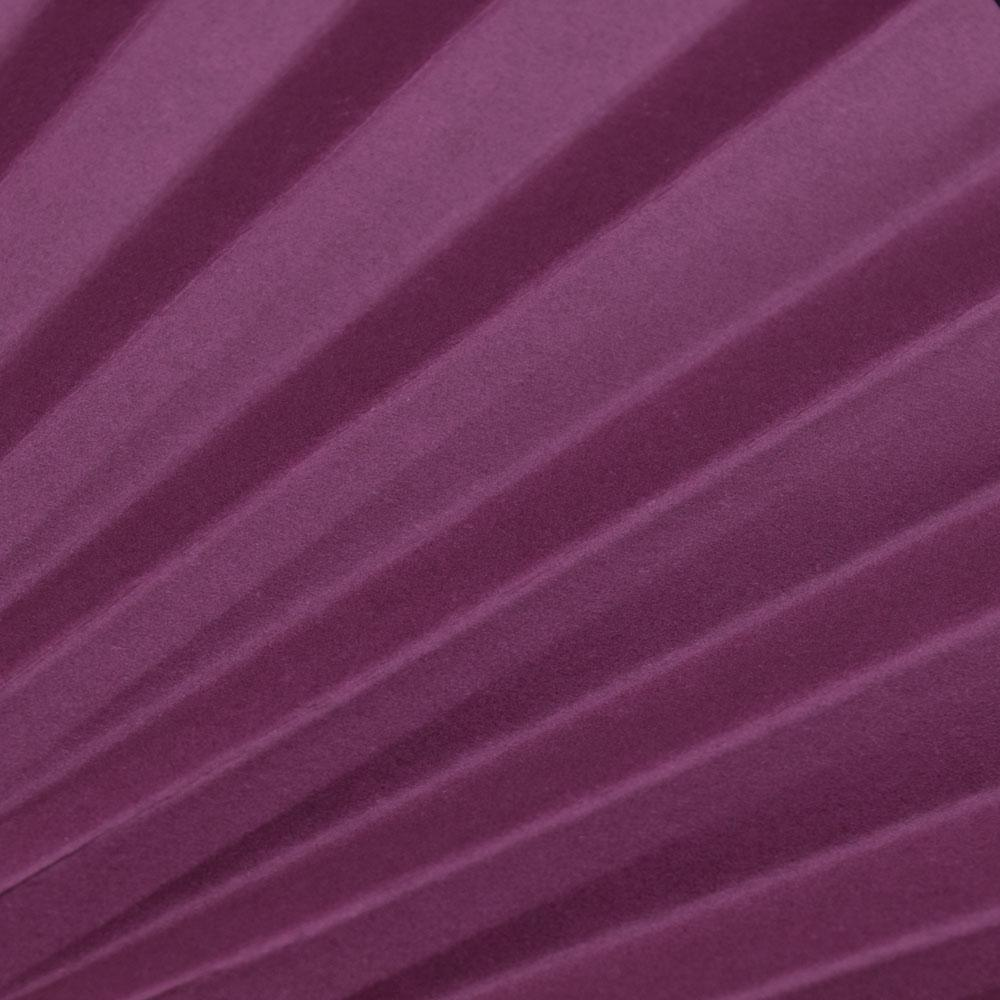 "BLOWOUT 9"" Violet Paper Hand Fans for Weddings, Premium Paper Stock (10 Pack)"