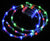 BLOWOUT 30 LED RGB Waterproof String Rope Light, 6 FT Clear Submersible Tube, Battery Operated Powered