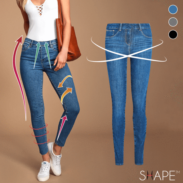 FreshTrend™ - Perfect Fit Denim Jeggings