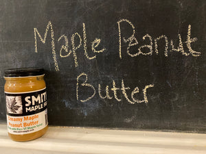 Half Pint of Creamy Maple Peanut Butter