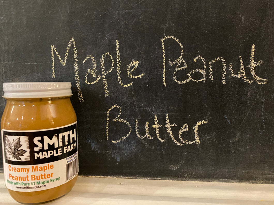 Pint of Creamy Maple Peanut Butter