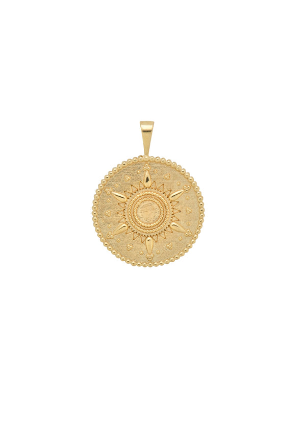 Caïro Necklace Charm Goldplated