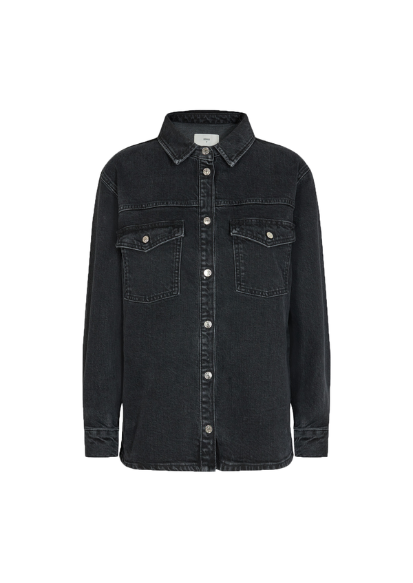 Arola Black Denim Jacket