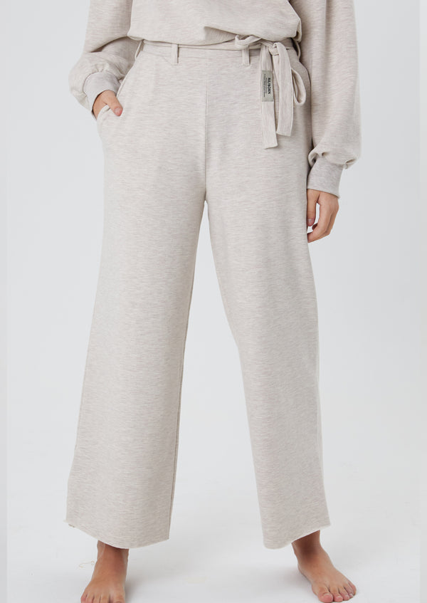 Emma Trousers Light Melange