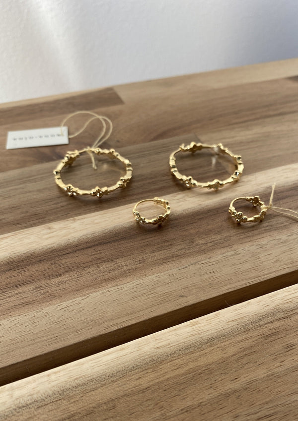 Eden Hoop Earring Goldplated