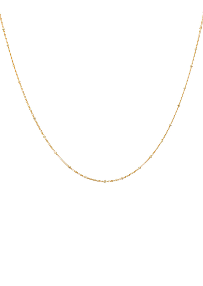 Kahlo Plain Necklace Short