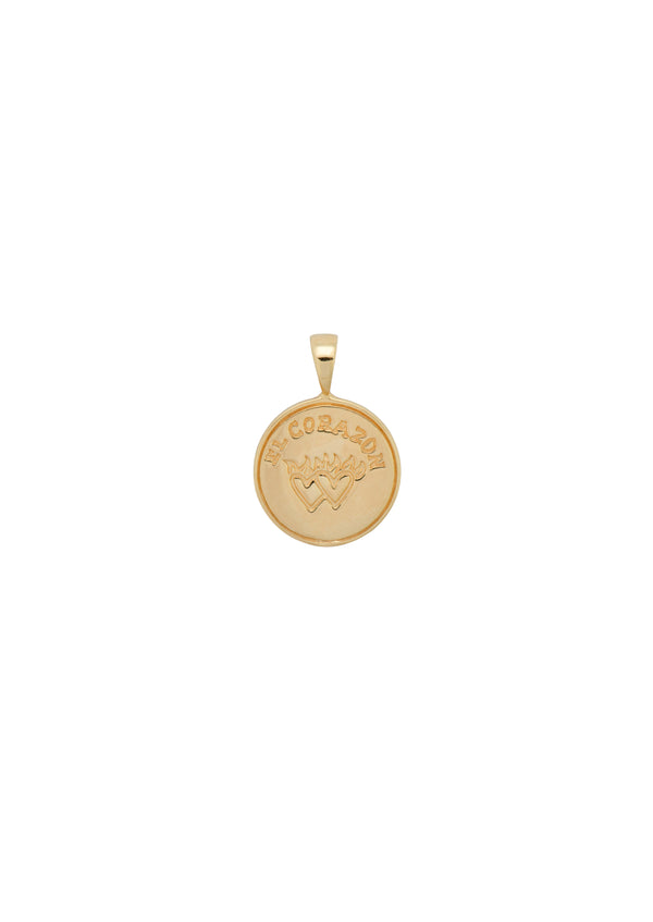 Peso Coin Necklace Charm