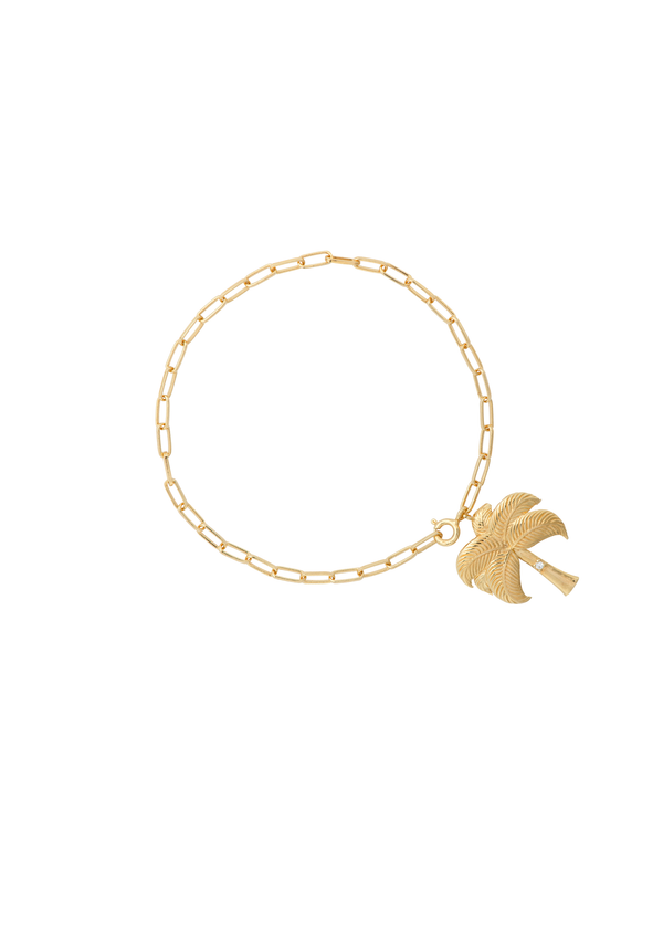 Twinkling Palm Bracelet Goldplated