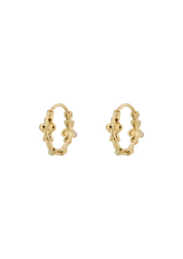 Eden Ring Earring Goldplated