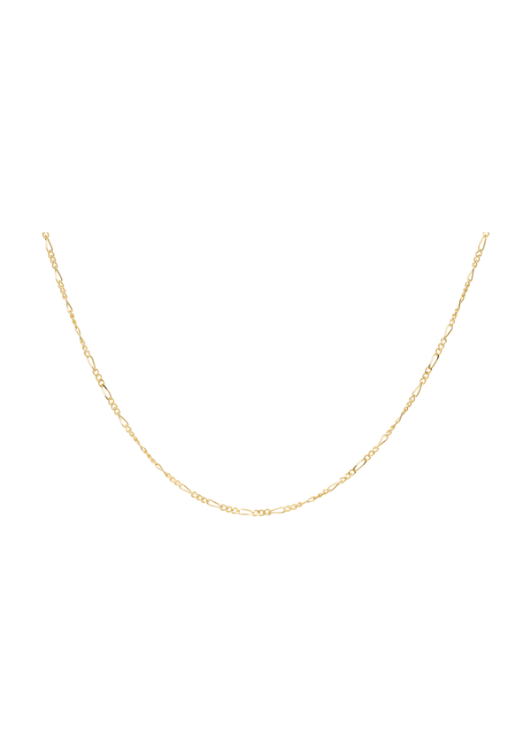 Liana Plain Necklace Short Goldplated