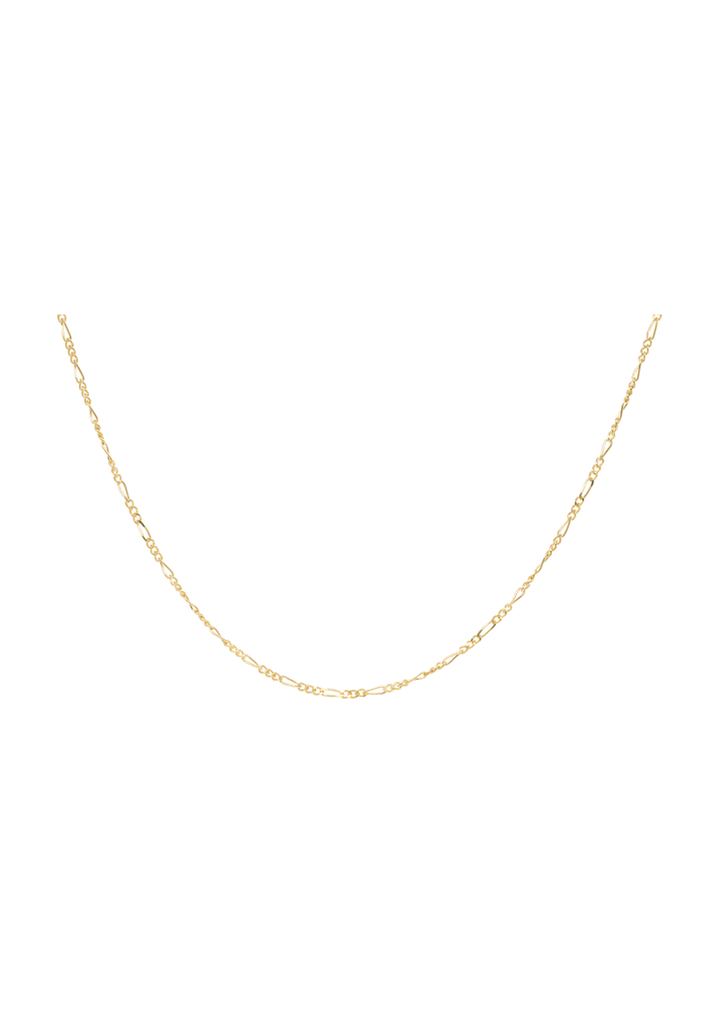 Liana Plain Necklace Long Goldplated