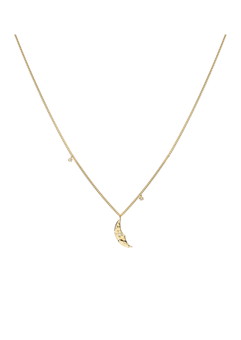 Moonlight Necklace Goldplated