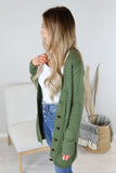Vintage Open Front Knit Cardigan - 2 Colors