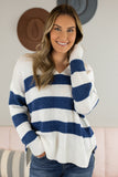 Look Out Hooded Sweater - 2 Colors