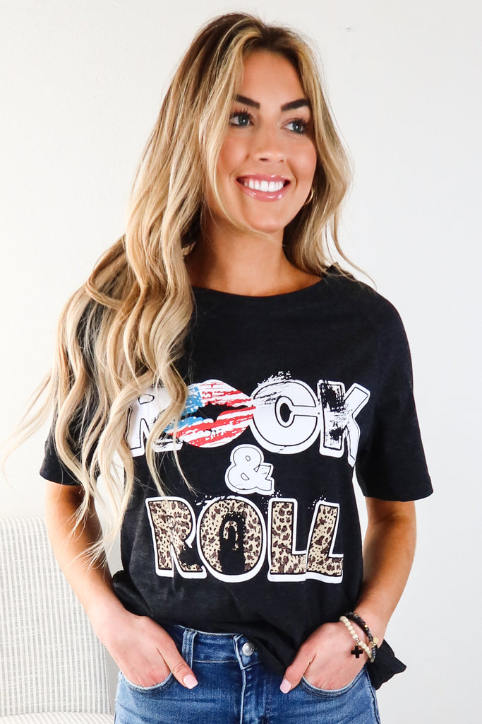 Long Live Rock And Roll Graphic Tee