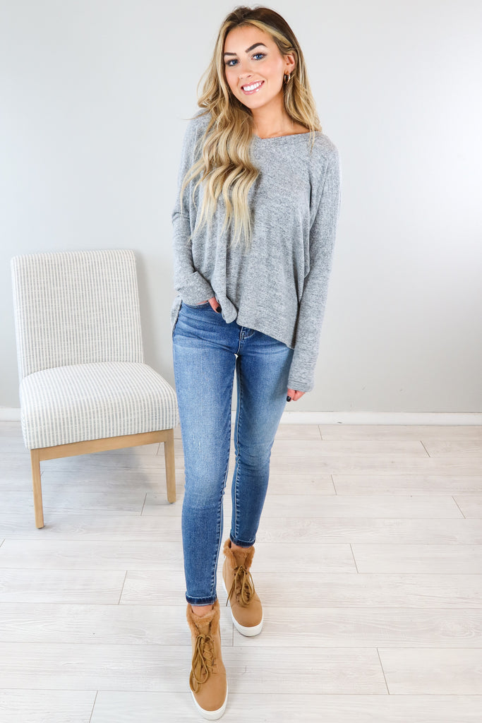 Emma Ruched Sweater