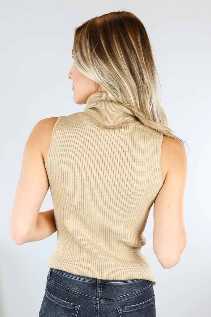 Mads Sleeveless Turtleneck - 2 Colors
