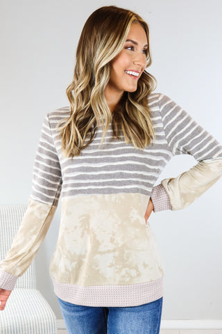 Dancing In The Wind Ruffle Top