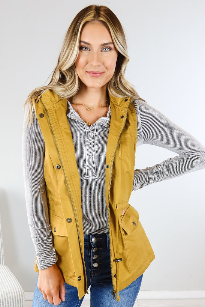 Fall Must Utility Vest - 4 Colors