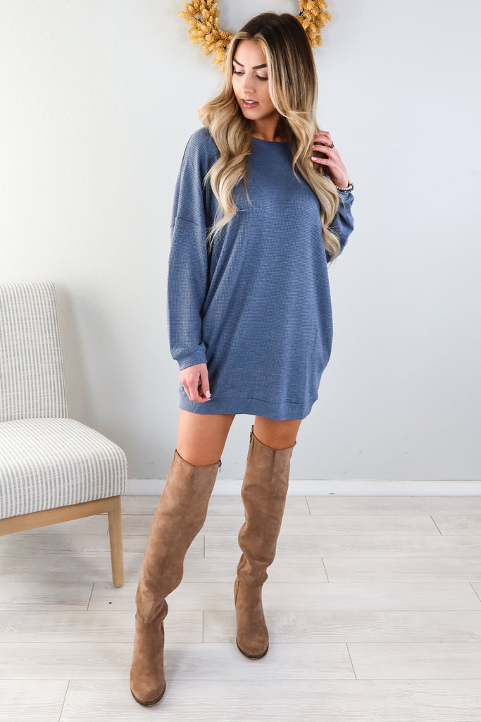 Hay Days Long Sleeve Dress - 2 Colors