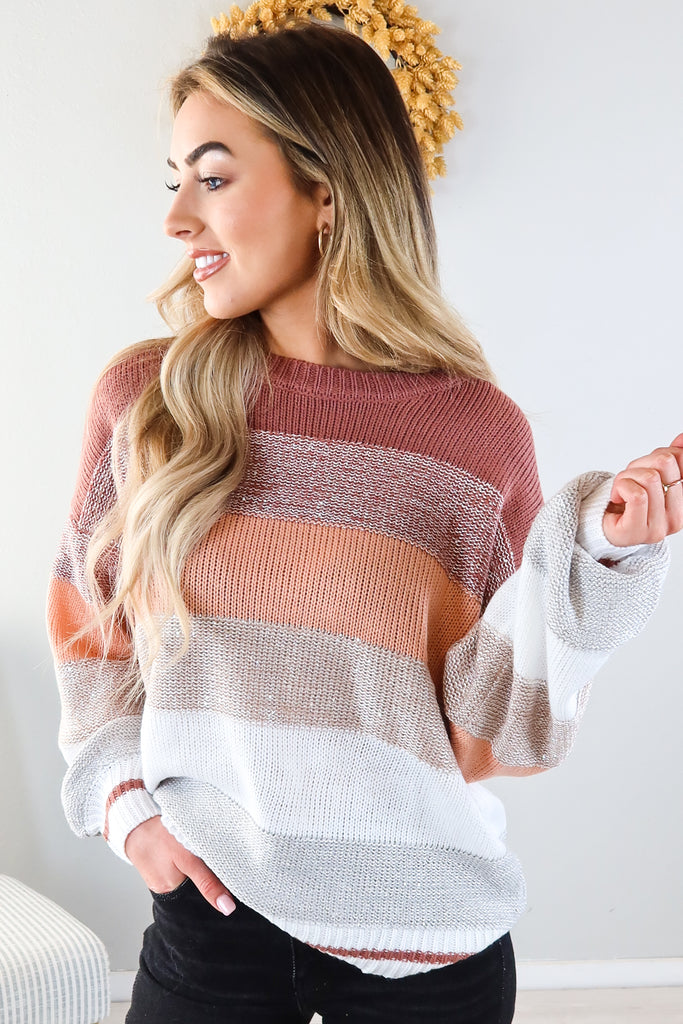 Alexis Striped Sweater