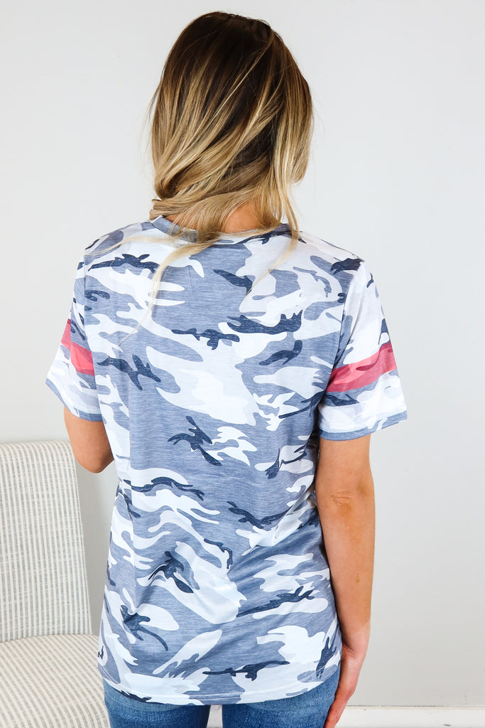 Armed Forces Camo T Shirt