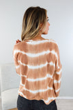 Happy Tie Dye Long Sleeve Top