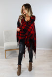 Buffalo Plaid Shawl