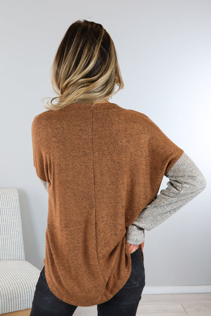 Wild West Zipper Pocket Top - 2 Colors