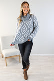 Diamond Ranch Turtle Neck Sweater