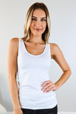 Basic Wide Strap Tank - 6 Colors