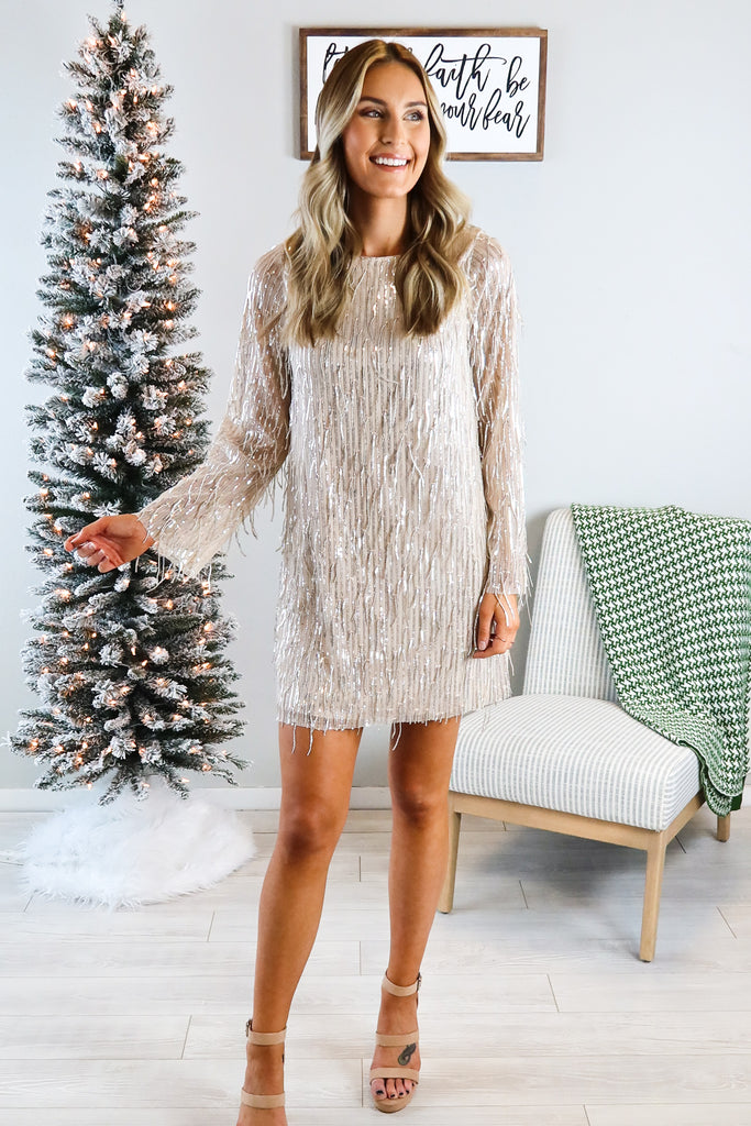Shooting Star Sequin Dress