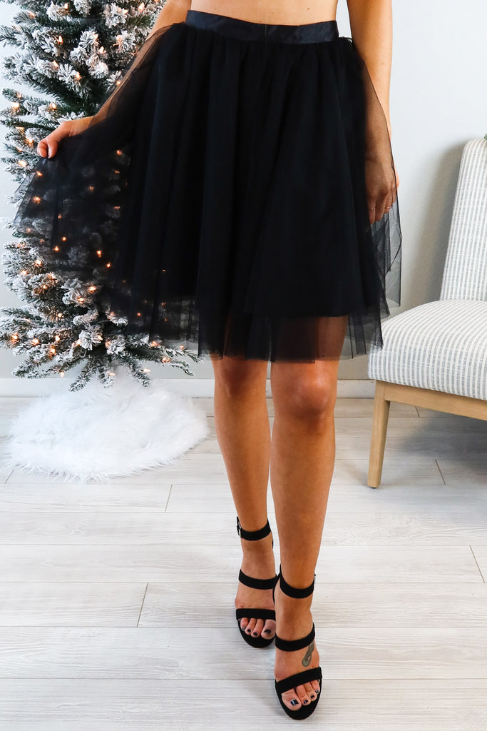 Short And Sweet Tulle Skirt