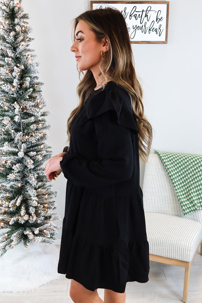 Briar Ruffle Tiered Dress - 3 Colors