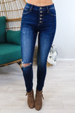 Curvy High Rise Kan Can Jeans