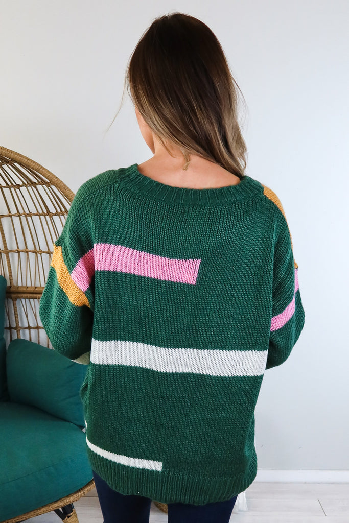 Bel Air Colorblock Sweater - 2 Colors