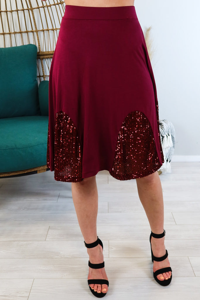 Jitterbug Sequin Skirt - 2 Colors