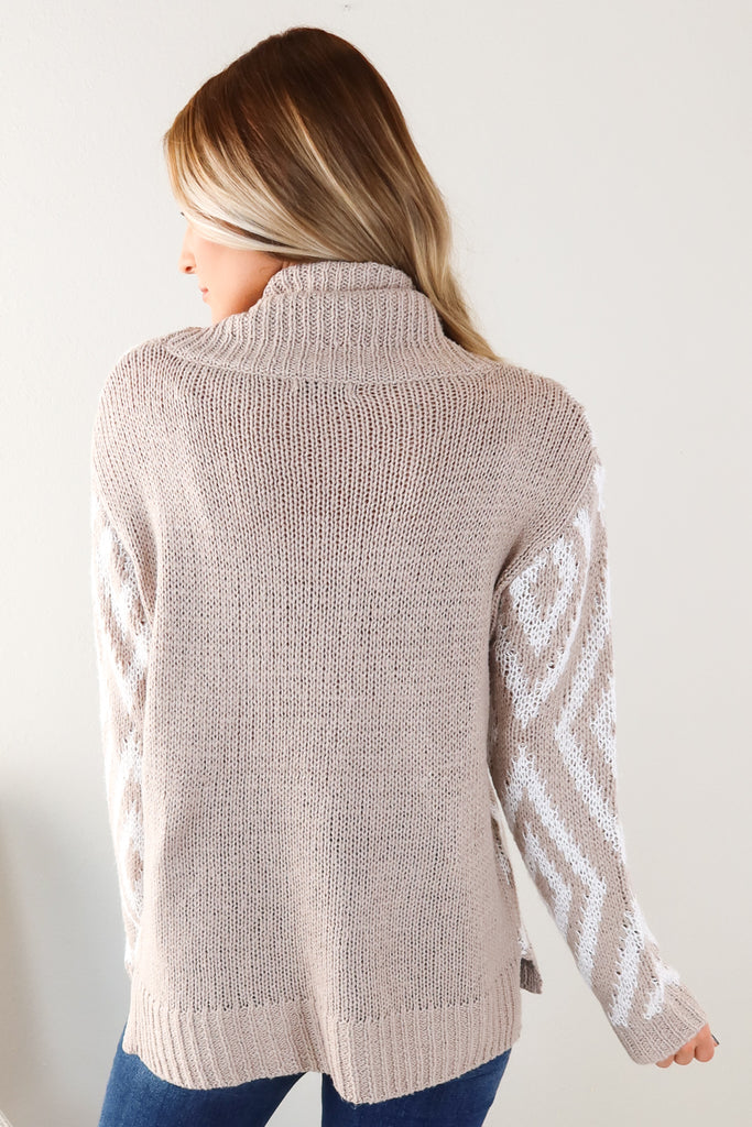 Diamond Ranch Turtle Neck Sweater - 2 Colors