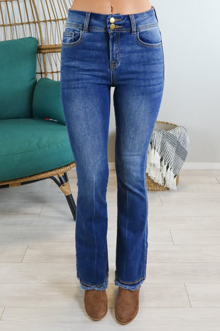 Mid Rise Basic Vervet by Flying Monkey Jeans